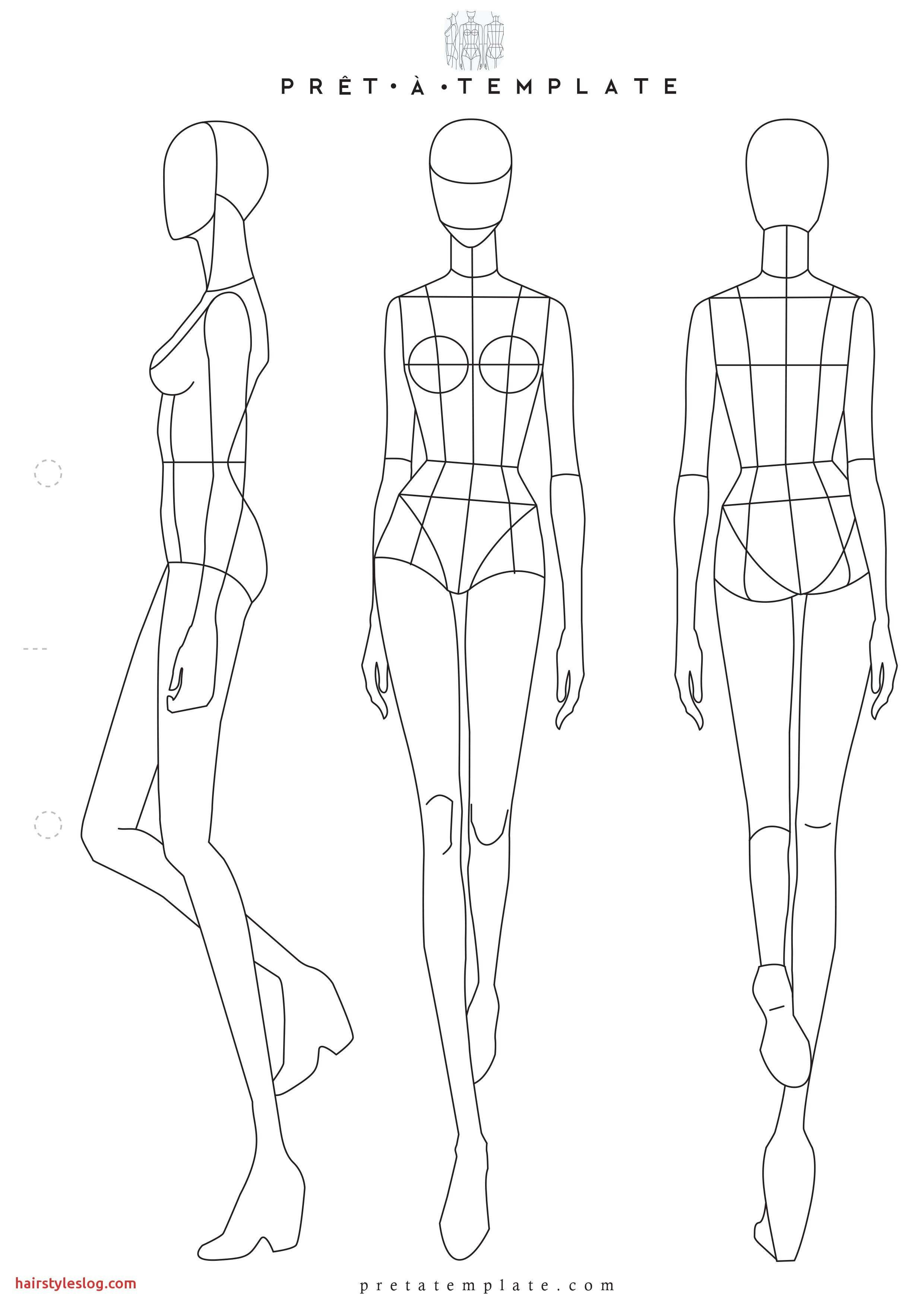 Model Sketch Template At Paintingvalley  Explore Collection Of Inside Blank Model Sketch Template