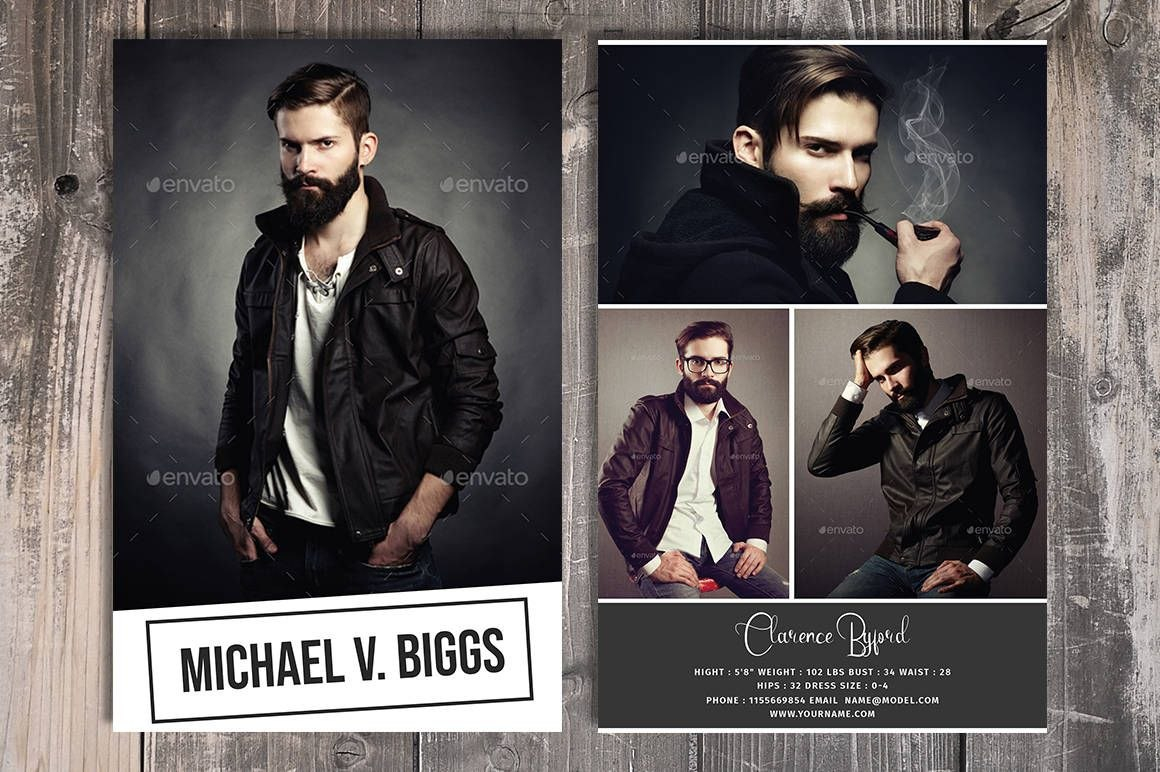 Modeling Comp Card Template Fashion Model Comp Card Photoshop And Inside Comp Card Template Download