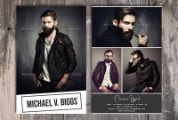 Modeling Comp Card Template Fashion Model Comp Card Photoshop And intended for Download Comp Card Template