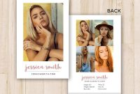 Modeling Comp Card Template Photoshop Psd Instant Download  Etsy with Download Comp Card Template