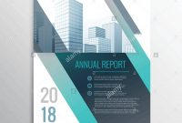 Modern Annual Report Business Brochure Design Template Cover Page In throughout Cover Page For Annual Report Template
