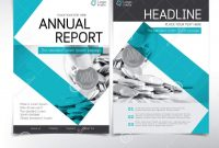 Modern Business And Financial Cover Page Vector Template Stock throughout Cover Page For Annual Report Template