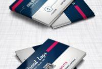 Modern Business Card Design Template Free Psd  Psd Print Template with Name Card Design Template Psd
