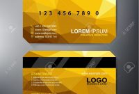 Modern Business Card Design Template Vector Illustration Royalty pertaining to Modern Business Card Design Templates