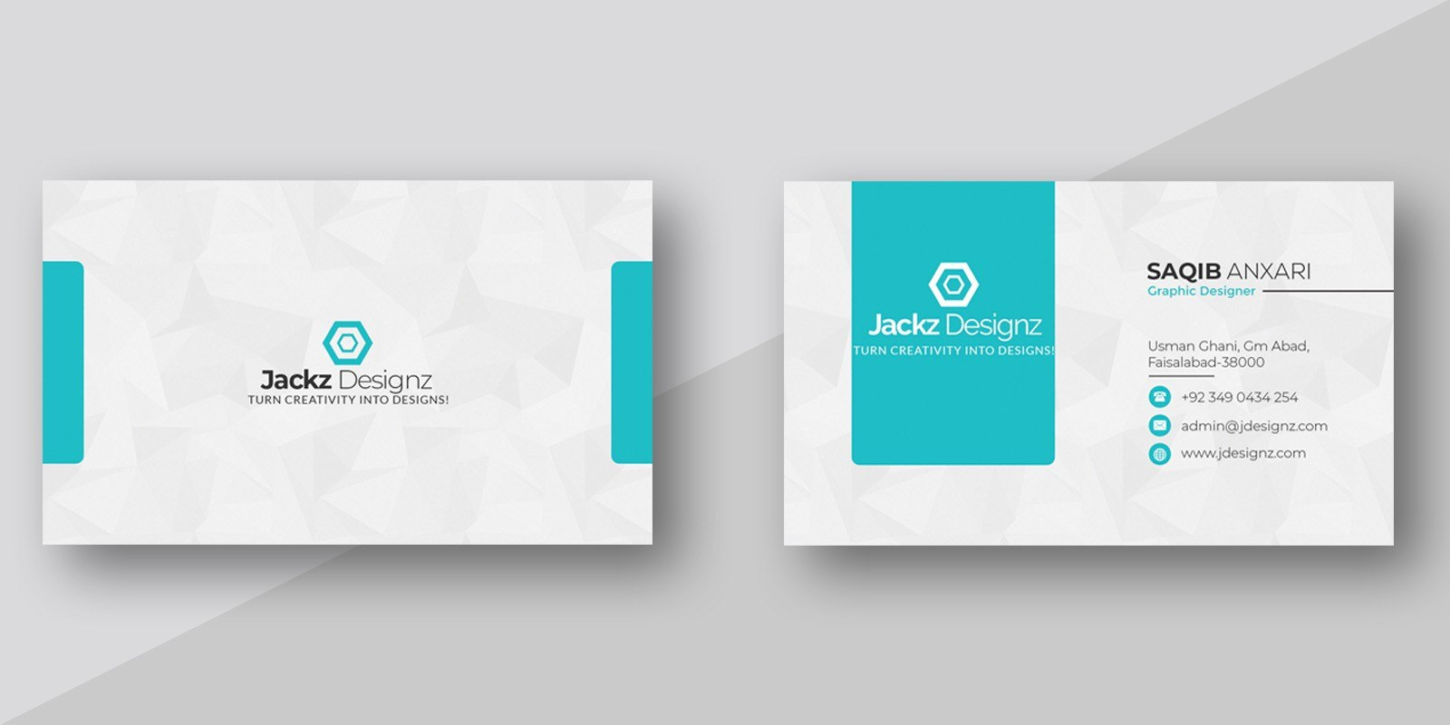 Modern Business Card Template With Regard To Buisness Card Templates