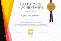 Modern Certificate Template With Elegant Border Frame Diploma D intended for Christian Certificate Template