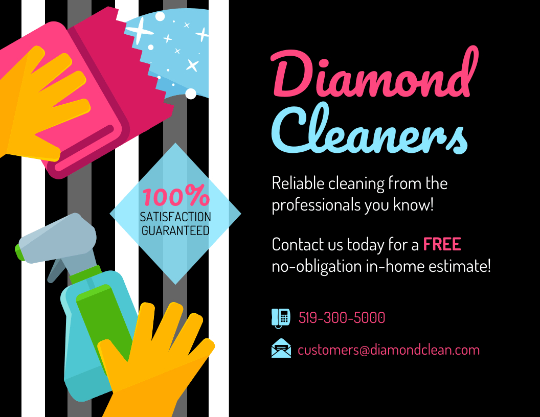 Modern Cleaning Service Flyer Template  Venngage Pertaining To Flyers For Cleaning Business Templates