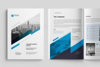 Modern Corporate Brochure Templates  Design Shack for Commercial Cleaning Brochure Templates