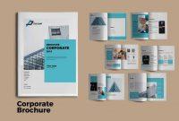 Modern Corporate Brochure Templates  Design Shack regarding Commercial Cleaning Brochure Templates