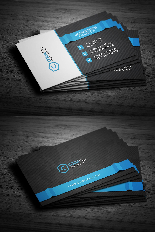 Modern Corporate Business Card Templates Psd  Business Card Intended For Create Business Card Template Photoshop