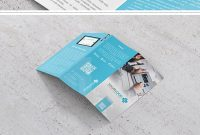 Modern Trifold Brochure Template In A And Us Letter Size Created regarding Adobe Tri Fold Brochure Template