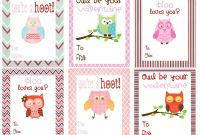 Mommy Hints  Free Printable Valentine's Day Cards For Kids To Take intended for Valentine Card Template For Kids