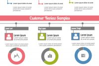 Monthly Customer Service Report Template  Venngage intended for Service Review Report Template