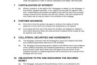 Mortgage Loan Agreement within Long Term Loan Agreement Template
