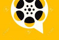Movie And Film Festival Poster Template Design Modern Retro Vintage intended for Film Festival Brochure Template