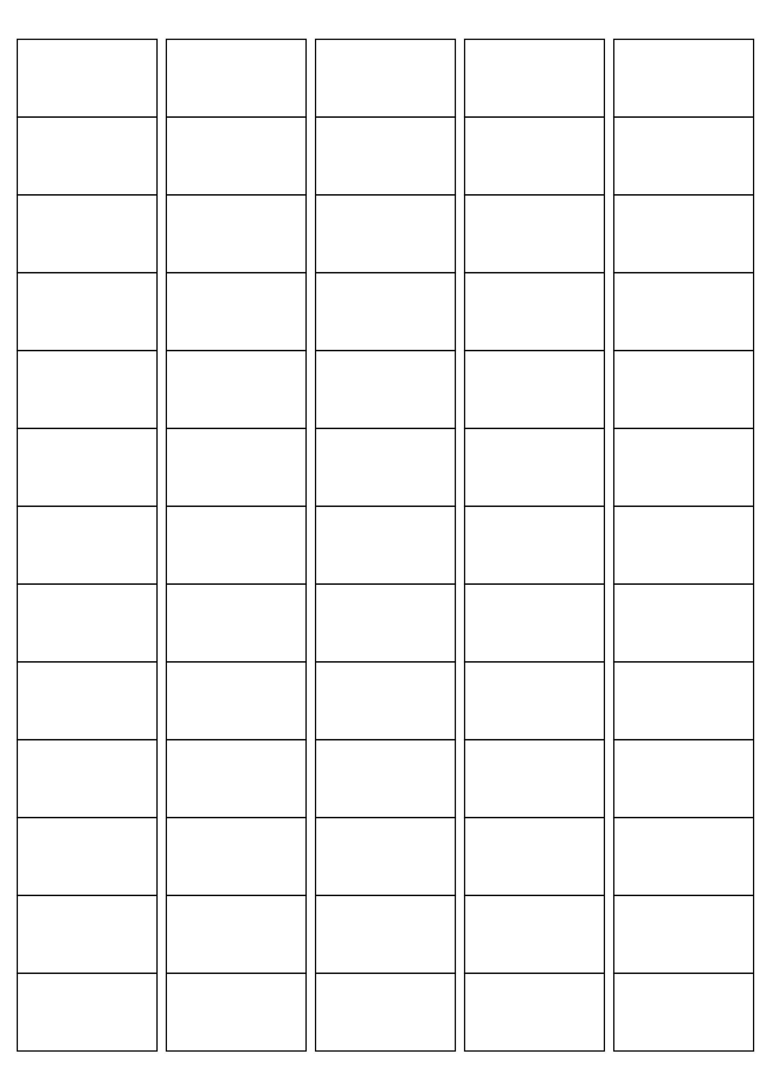 Mr   Rectangular Square Corners   X  Mm  A Sheet In Label Template 65 Per Sheet