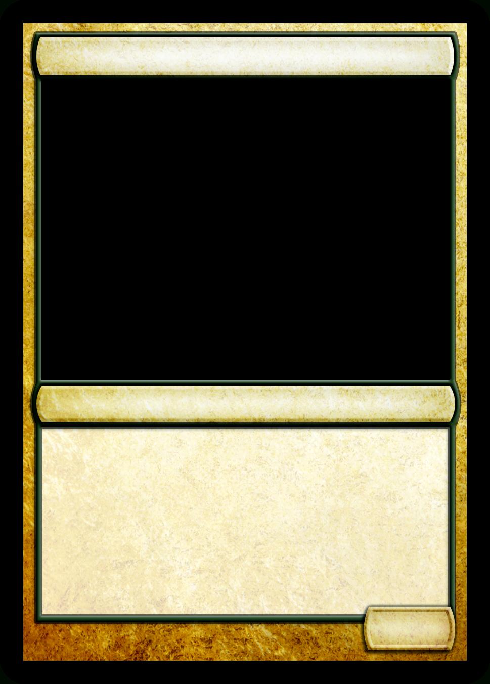 Mtg Multicolor Creature Template  Mtg Templates  Magic The In Magic The Gathering Card Template