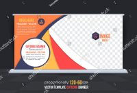 Multicolored Multipurpose Business Theme Outdoor Banner Stock Vector throughout Outdoor Banner Template