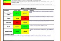 Multiple Project Dashboard Template Excel And Project Management with Project Manager Status Report Template