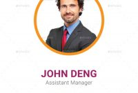 Multipurpose Business Id Card Templatedotnpix  Graphicriver Throughout Media Id Card Templates