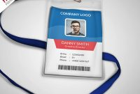 Multipurpose Company Id Card Free Psd Template  Psdfreebies within Id Card Design Template Psd Free Download
