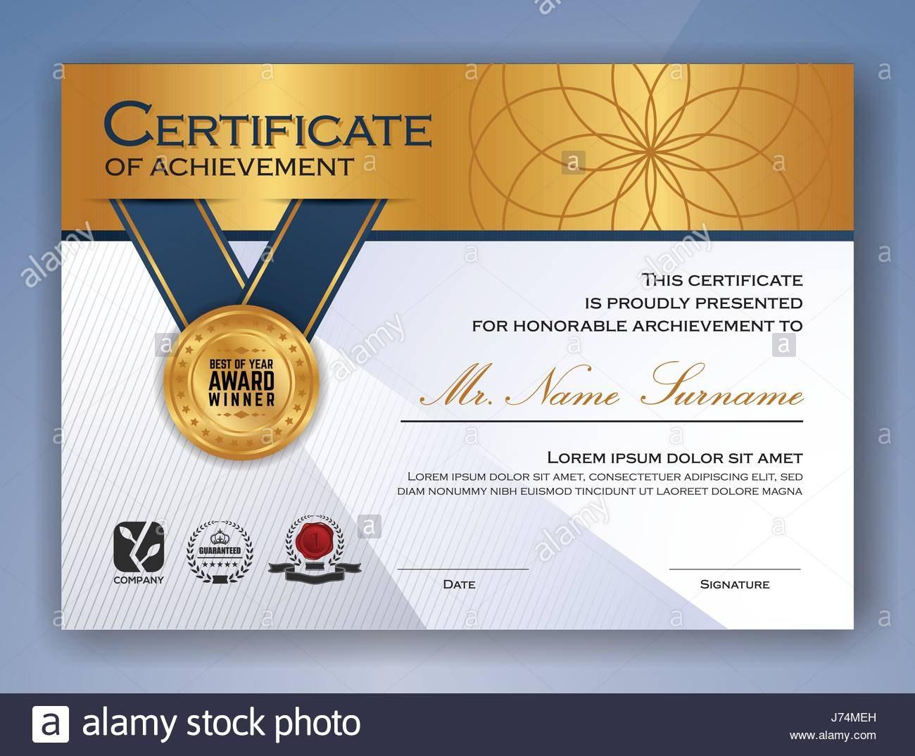 Multipurpose Professional Certificate Template Design For Print For Design A Certificate Template