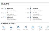 Multislide Resume Powerpoint Template  Slidemodel regarding Biography Powerpoint Template