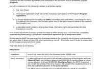 Murud Pty Ltd Term Sheet For Investment Fill Online Printable for Sample Shareholder Agreement For Startup