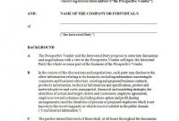 Mutual Confidentiality Agreement  Pdf Doc  Examples for Mutual Confidentiality Agreement Template