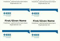 Name Badge Template Word Custom Designed Best Of Nameplate inside Visitor Badge Template Word