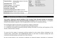Narrative Report Examples  Pdf  Examples throughout Evaluation Summary Report Template