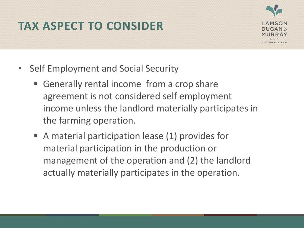 Negotiating An Equitable Crop Share Agreement Material And Inside Share Farming Agreement Template