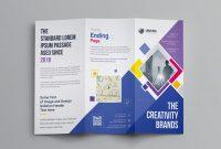 Neptune Professional Corporate Trifold Brochure Template intended for Professional Brochure Design Templates