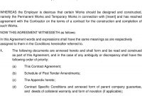 Network Rail  Insert Contract Title  Pdf for Collateral Warranty Agreement Template