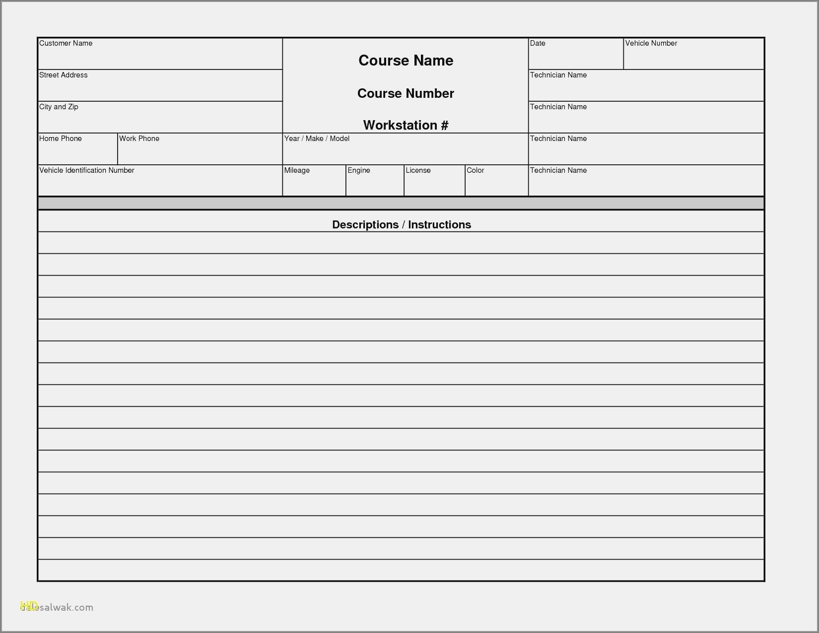 New Auto Repair Invoice Template Word  Mavensocialco For Auto Repair Invoice Template Word