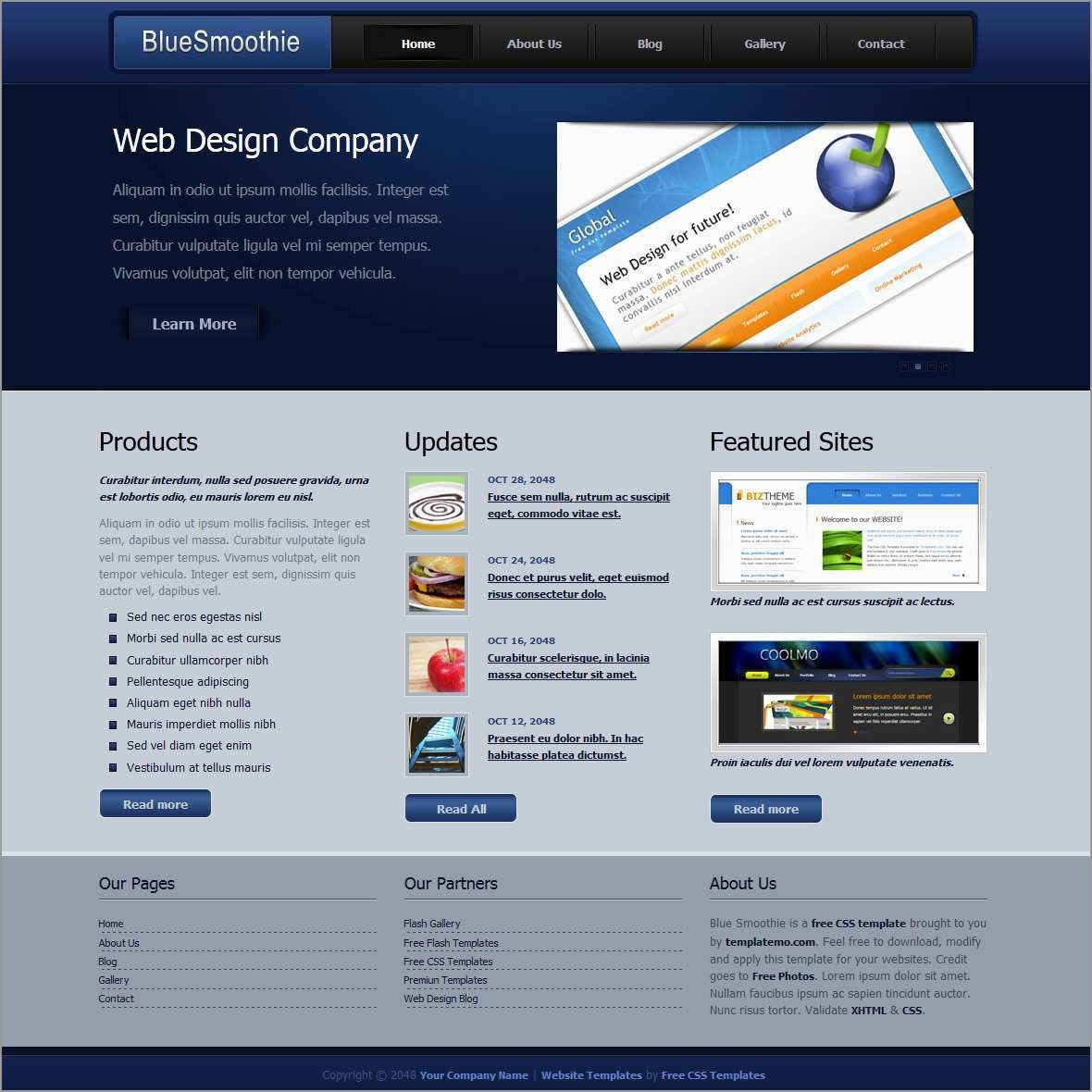 New Css Web Templates Free Download  Best Of Template For Css Vertical Menu Templates Free Download