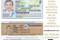 New  Editable Id Card Templates  Business Letters Blog throughout Georgia Id Card Template