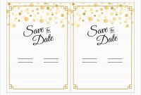 New Free Save The Date Party Templates For Word  Best Of Template throughout Save The Date Templates Word