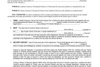 New Jersey Association Of Realtors Standard Form Of Residential regarding Table And Chair Rental Agreement Template