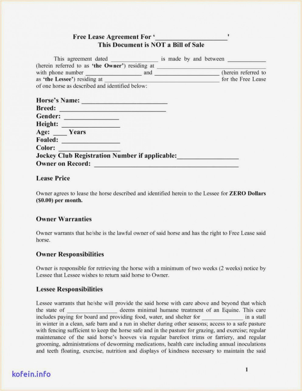 New Owner Operator Lease Agreement Template  Agreement Ideas For Owner Operator Lease Agreement Template