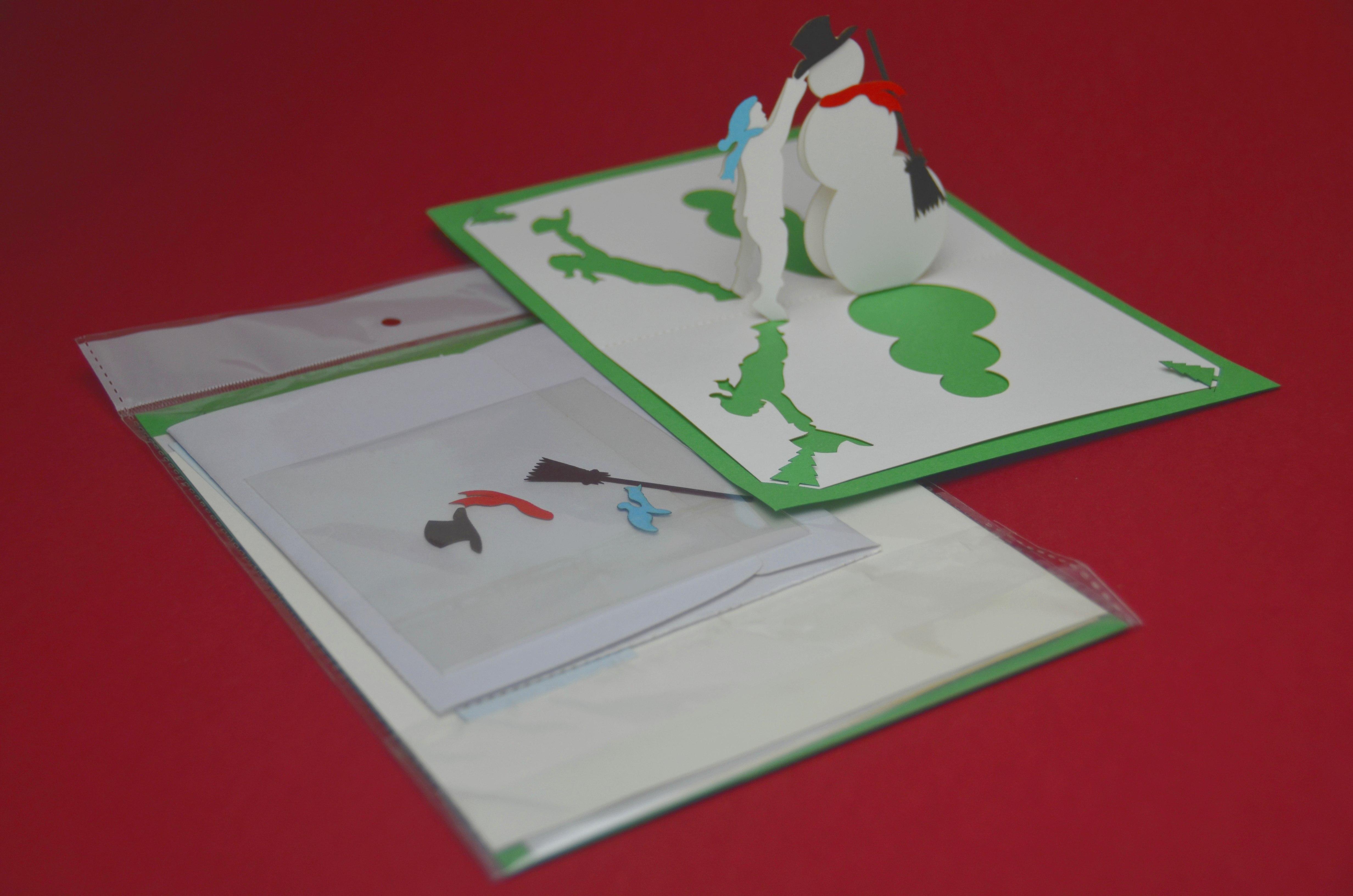 New Precut Popup Card Kit  Creative Pop Up Cards Regarding Pop Up Tree Card Template