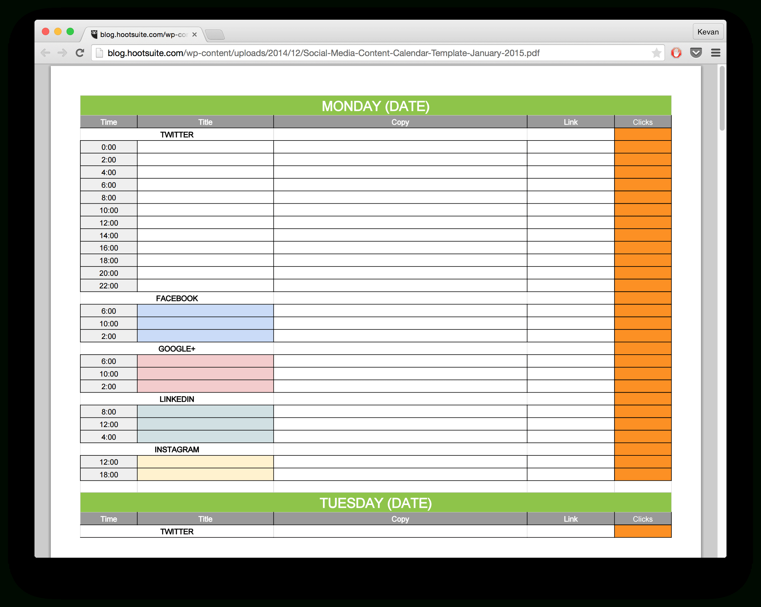 New Social Media Templates To Save You Even More Time With Free Social Media Report Template