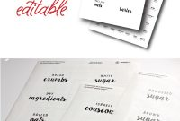 New To The Organization Toolbox Editable And Printable Pantry throughout Pantry Labels Template