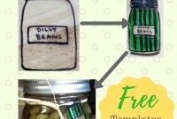 New Ways To Label Your Canning Jars Plus Free Templates  City pertaining to Templates For Labels For Jars
