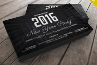 New Years Party Invitation Card Free Psd  Psdfreebies within Business Launch Invitation Templates Free