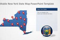 New York State Powerpoint Map Template  Slidemodel regarding Powerpoint 2013 Template Location