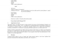 New Zealand Residential Tenancy Agreement pertaining to Rental Agreement Template New Zealand