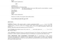 New Zealand Subletting Agreement For Residential Premises intended for Rental Agreement Template New Zealand