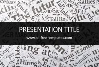 Newspaper Powerpoint Template Is Free Template That You Can Use To pertaining to Newspaper Template For Powerpoint