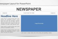Newspaper Powerpoint Template  Slidemodel intended for Newspaper Template For Powerpoint
